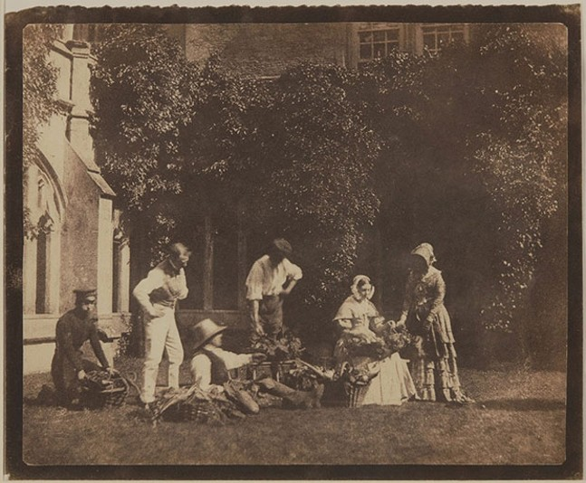 ART BY WILLIAM HENRY FOX TALBOT