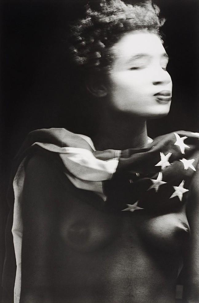 """Lyle Ashton Harris' """"Miss America"""" - IMAGE COURTESY OF THE STUDIO MUSEUM IN HARLEM PHOTO COURTESY OF SASHA J. MENDEZ"""