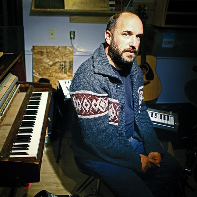 David Bazan - PHOTO COURTESY OF RYAN RUSSELL