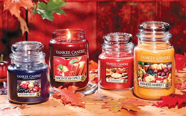 Yankee Candles or sauerkraut... you never know what you might get.
