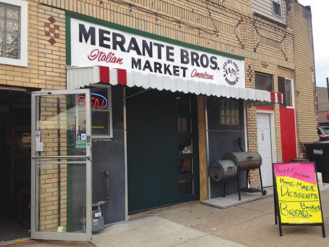 Merante Bros. Italian-American Market in Uptown - CP PHOTO BY RYAN DETO