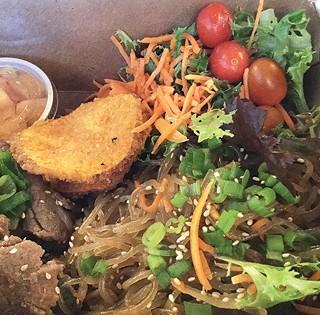 Beef bulgogi over noodles - CP PHOTO BY AL HOFF
