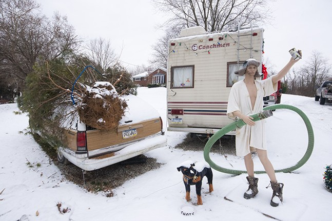 Christmas Vacation Rv.Sites From A Christmas Vacation Themed Christmas Display In
