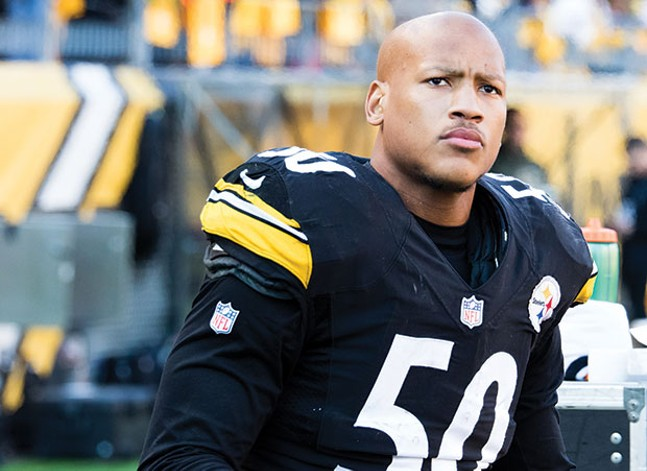 Ryan Shazier in 2016 - CP PHOTO BY LUKE THOR TRAVIS