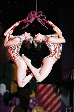 PHOTO COURTESY OF CIRQUE DREAMS HOLIDAZE