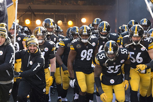 The Steelers take the field against the Jacksonville Jaguars on Sun., Jan. 14 - CP PHOTOS BY JAKE MYSLIWCZYK