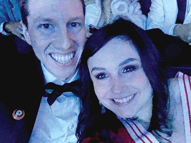 Jeff Betten (left), at the Grammys - PHOTOS COURTESY OF JEFF BETTEN