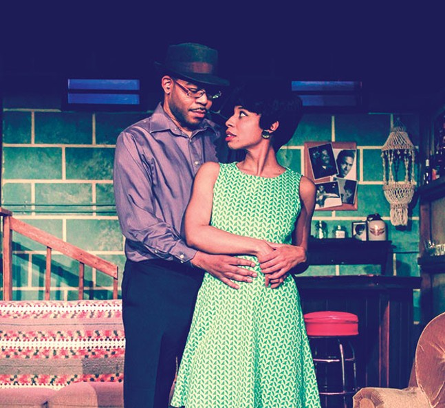 "Leslie ""Ezra"" Smith and Alexandria Danielle King in Detroit '67 at New Horizon Theater - PHOTO COURTESY OF LIONESS PHOTOGRAPHY"