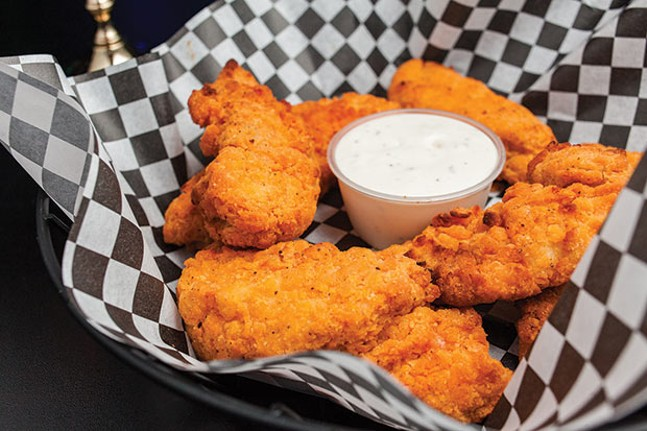 Chicken tenders, at Spearmint Rhino - CP PHOTO BY VANESSA SONG