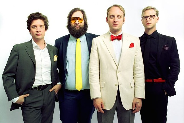 Deer Tick - PHOTO COURTESY OF LAURA PARTAIN