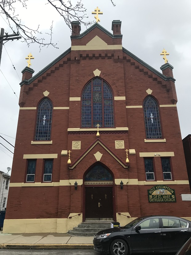 St. Mary's Russian Orthodox Church - CP PHOTO BY CELINE ROBERTS