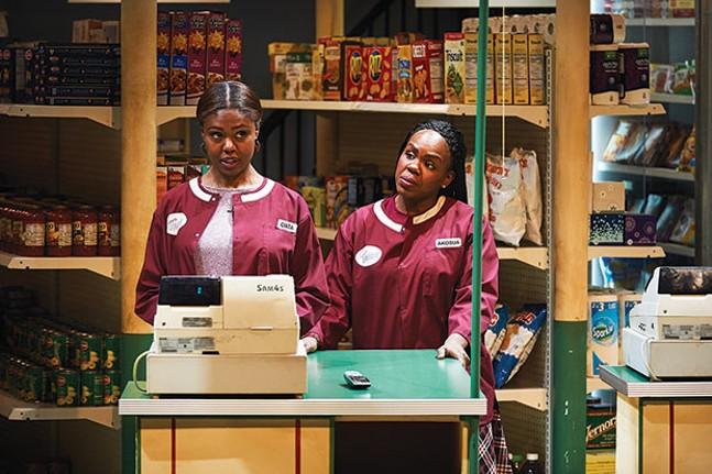 Shamika Cotton and Ngozi Anyanwu in Citizens Market  - PHOTO COURTESY OF KRISTI JAN HOOVER