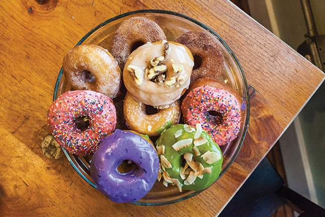 A selection of vegan donuts from Wolf Teeth Donuts - CP PHOTO BY VANESSA SONG