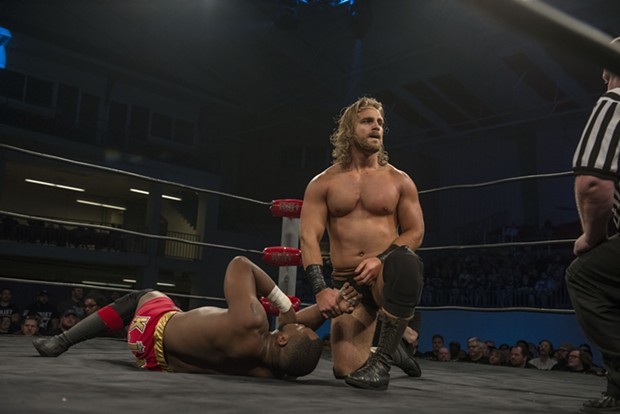 Adam Page wrestles as part of ROH - PHOTO COURTESY OF RING OF HONOR/JOHN MOSES