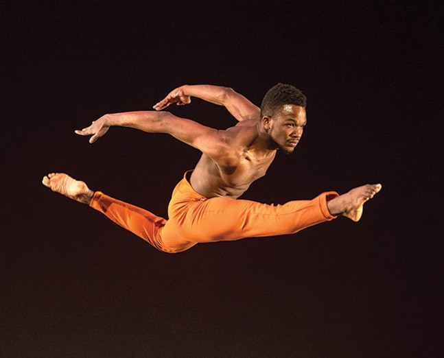 "Terrell Rogers in Jennifer Archibald's ""Orenda"" - PHOTO COURTESY OF KATIE GING"