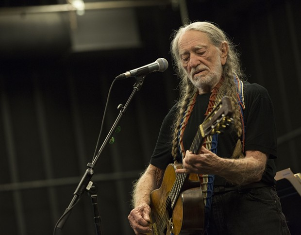 Willie Nelson headlines the Outlaw Music Festival in September at KeyBank Pavilion - PHOTO COURTESY OF JAMES MINCHIN