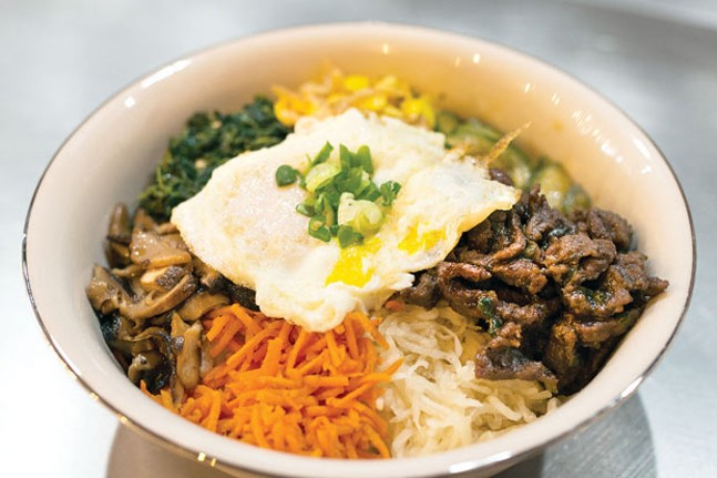 Bibimbap - CP PHOTO BY JAKE MYSLIWCZYK