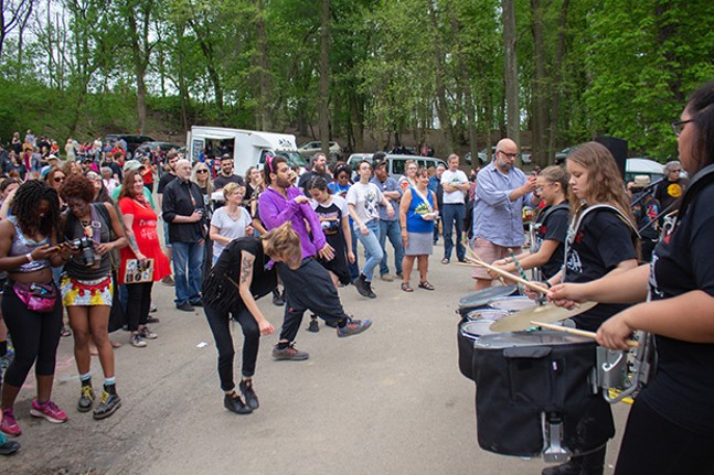 Pittonkatonk in Schenley Park on Sat., May 5, 2018 - CP PHOTOS BY ANNIE BREWER