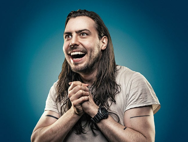 Andrew W.K. - PHOTO COURTESY OF THE ARTIST