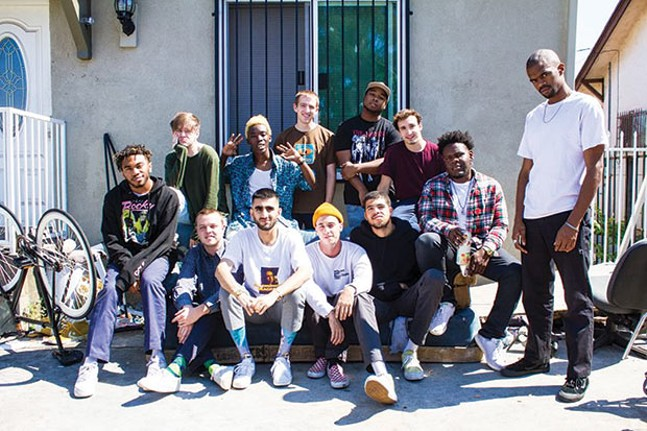 Brockhampton, May 30 - PHOTO COURTESY OF ASHLAN GREY
