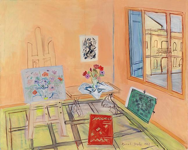 Raoul Dufy's L'Atelier au bouquet at Frick Art Museum's Van Gogh, Monet, Degas