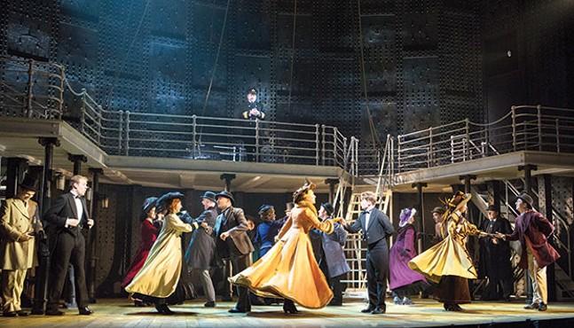 Titanic, June 22-July 1, Pittsburgh CLO - PHOTO COURTESY OF CYLLA VON TIEDEMANN