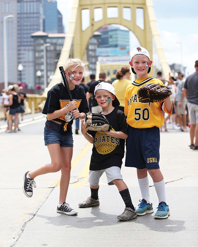Pirates Kids Days, Sundays - PHOTO COURTESY OF DAVE ARIGGO