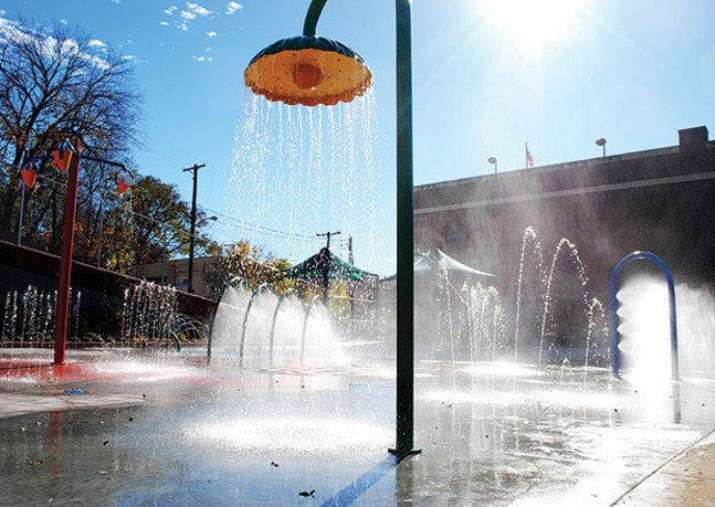 Spray park at Warrington Park in Allentown - PHOTO COURTESY OF CITIPARKS