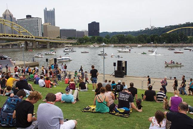 EQT Pittsburgh Three Rivers Regatta, Aug. 3-5 - CP PHOTO BY KRISTA JOHNSON