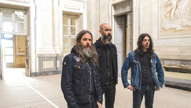 Ufomammut of Italy - PHOTO COURTESY OF MALLEUS