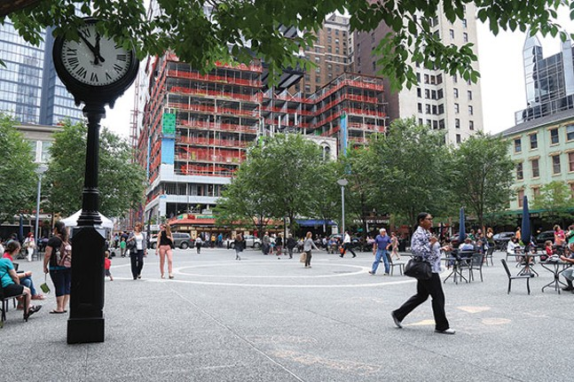 Market Square in Downtown Pittsburgh - CP FILE PHOTO