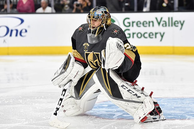 No longer a Penguin: Marc-Andre Fleury - PHOTO COURTESY OF JEFF BOTTARI/VEGAS GOLDEN KNIGHTS