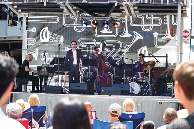 The Pittsburgh International Jazz Festival held free concerts in Downtown Pittsburgh on June 15-17. - CP PHOTO BY ANNIE BREWER