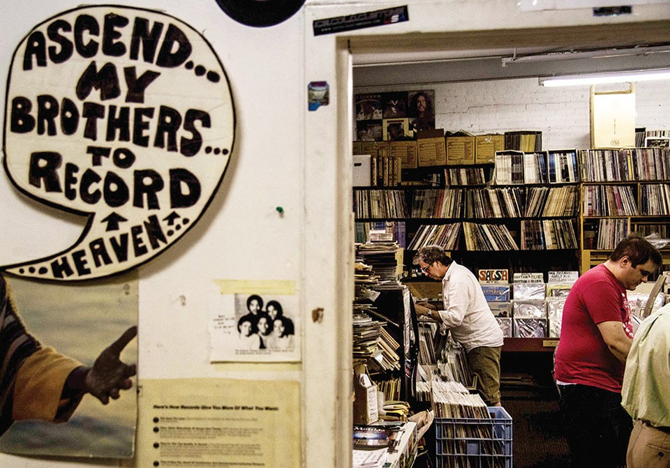 Jerry's Records - CP PHOTO BY LUKE THOR TRAVIS