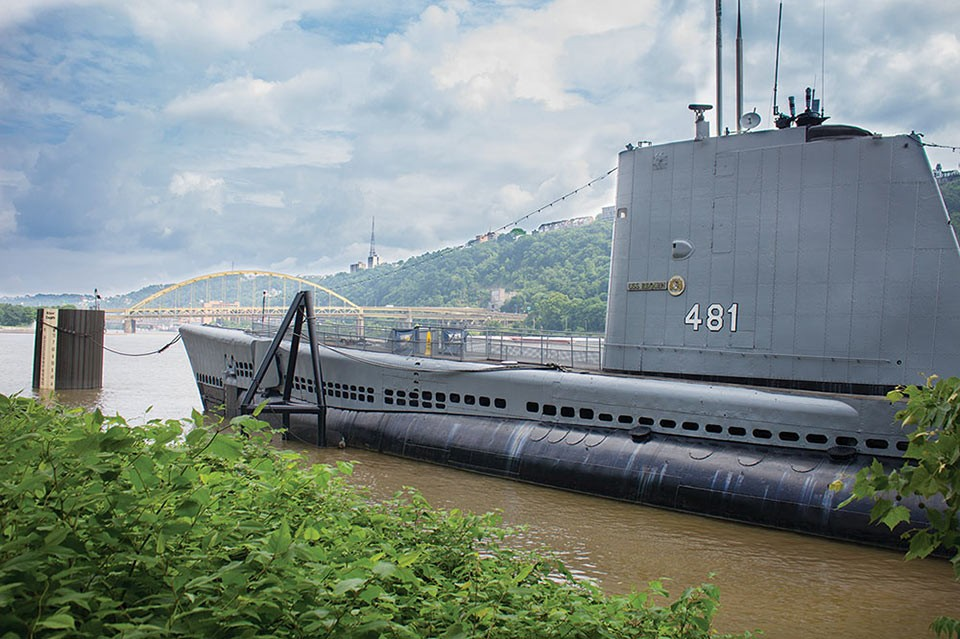 USS Requin - CP PHOTO BY ANNIE BREWER