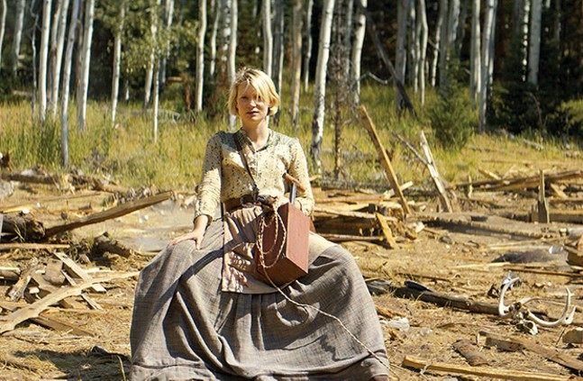 Mia Wasikowska stars in Damsel - PHOTO COURTESY OF MAGNOLIA PICTURES