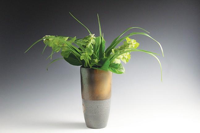 A vase by Talon Smith - PHOTO COURTESY OF THE ARTIST