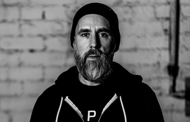 Jesse Novak, host of WYEP's The Roots & Rhythm Mix - PHOTO COURTESY OF BENJAMIN PRISBYLLA