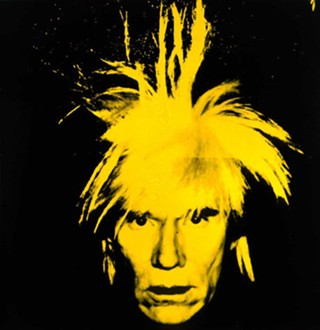 Andy Warhol's 1986 Self-Portrait - ARTWORK COURTESY OF THE ANDY WARHOL MUSEUM, ©THE ANDY WARHOL FOUNDATION FOR THE VISUAL ARTS, INC.