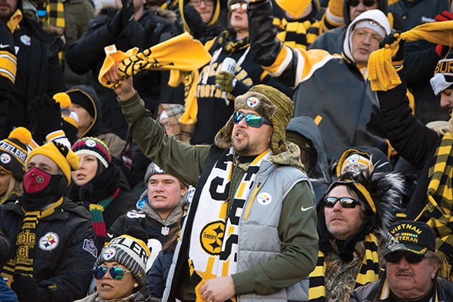 Let's hope Steelers fans have something to cheer for this season. - CP FILE PHOTO