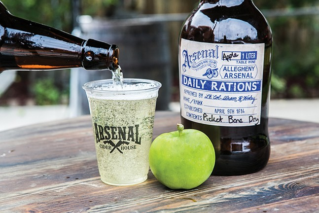 Arsenal Cider House - CP PHOTO BY JOHN COLOMBO