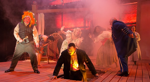 Kinetic Theatre Company's <i>An Octoroon</i> is not for the faint of heart