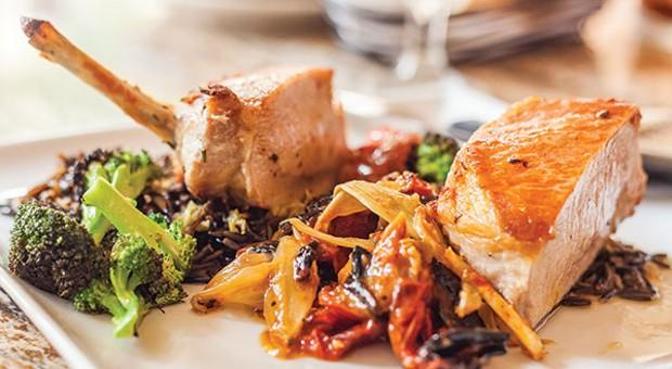 Stagioni offers well-prepared seasonal Italian cuisine