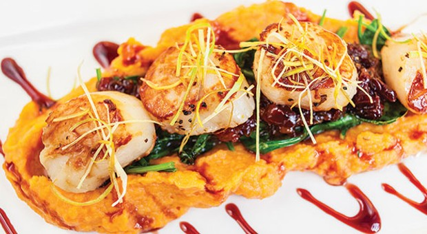 M&J Bistro, on the South Side, offers excellent sushi and Asian-inspired fusion dishes