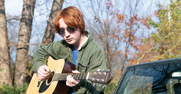Woodland Hills senior Eli Alfieri uses music as a form of coping