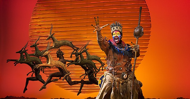The stage performance of <i>The Lion King </i> continues to roar