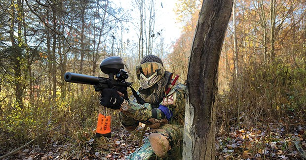 Pittsburgh's Command B.R.O.S. are making a splash in the world of scenario paintball