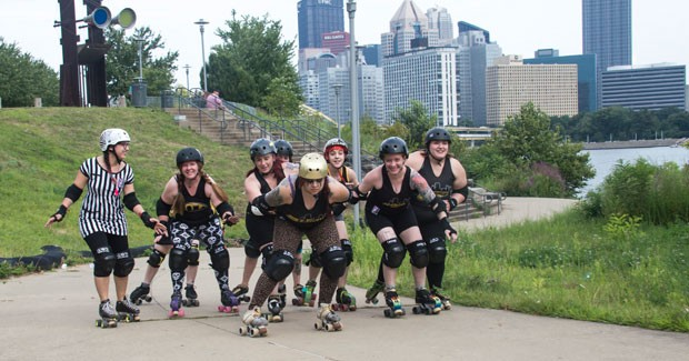 Roller-derby playoffs hit Pittsburgh's David L. Lawrence Convention Center