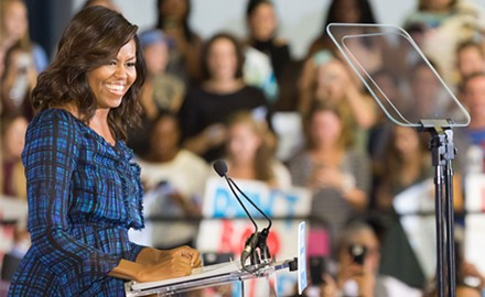 Hillary Clinton campaign continues to rally base with Michelle Obama visit in Pittsburgh