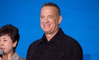 Tom Hanks is in Pittsburgh tonight and wants you to register to vote